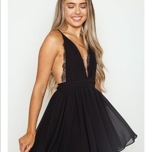 Venus Lace Mini Dress from Ooh La Luxe
